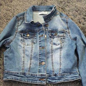 Jackets & Blazers - CEST TOI JEAN JACKET, CROPPED. SML